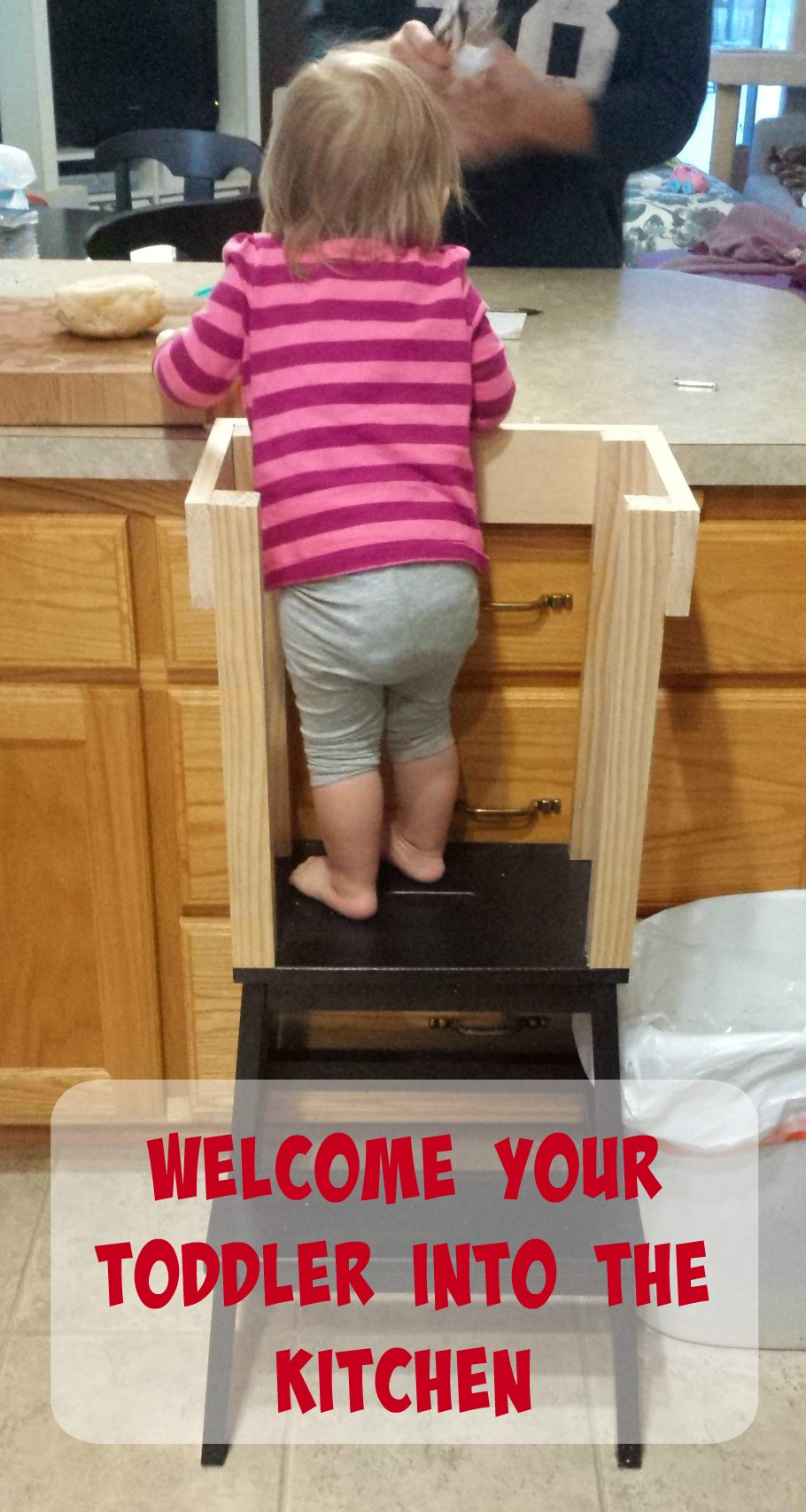 Welcome Your Toddler Into the Kitchen
