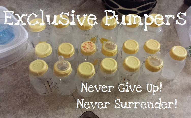 Exclusive Pumpers: Never Give Up! Never Surrender!