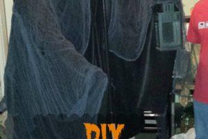 DIY Halloween Grim Reaper