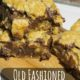 Old Fashioned Oatmeal Fudge Bars