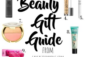 Beauty Product Gift Guide