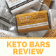KETO BARS Review