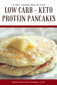Low carb keto protein pancakes the sarcastic parent i have tried a lot of keto pancakes a lot and most of them take a blender or some really extensive process that i dont have to the time for ccuart Images